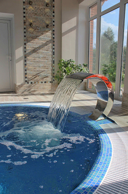 Переливной SPA бассейн