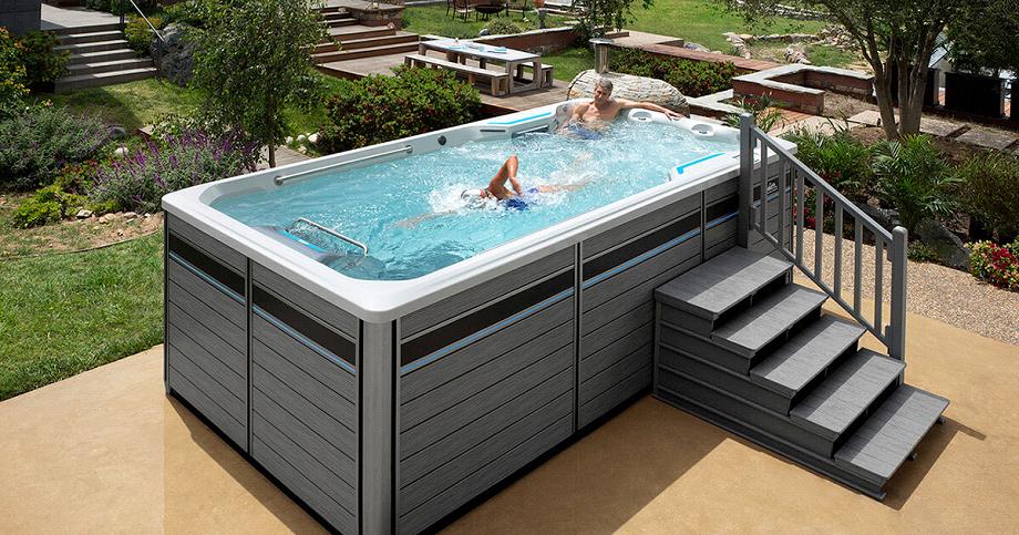 плавательный СПА бассейн для улицы