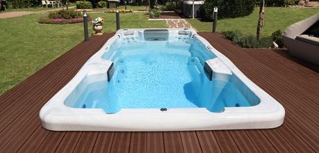 Плавательный SPA бассейн Wellis