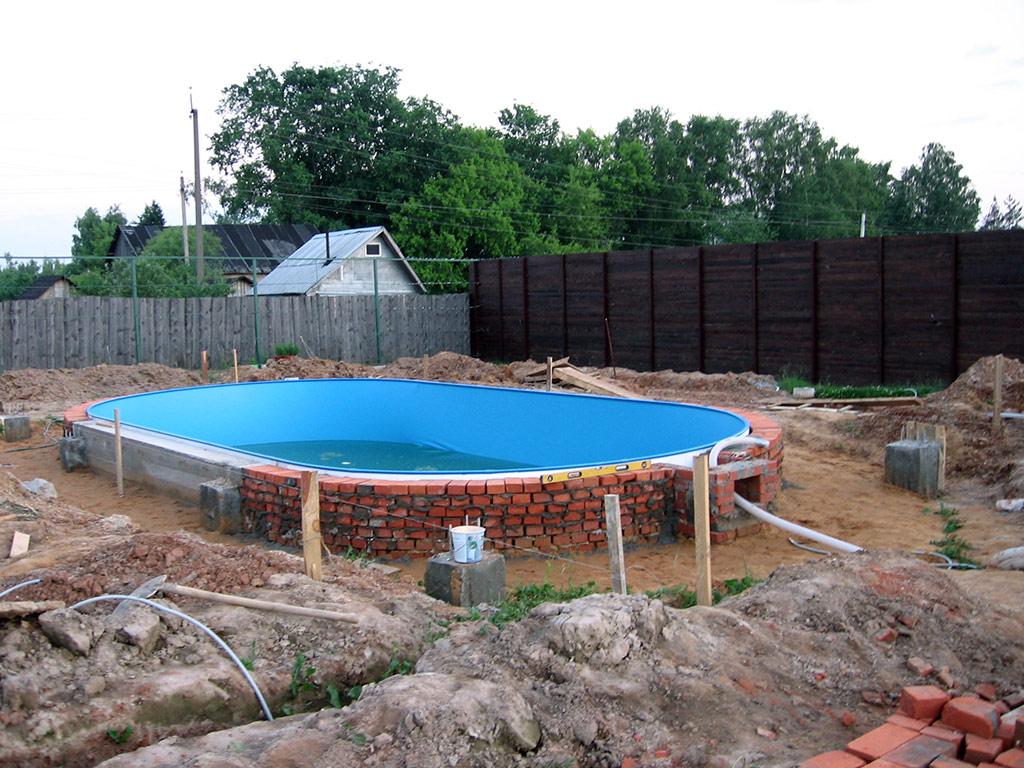 Фото бассейнов сделанными своими руками