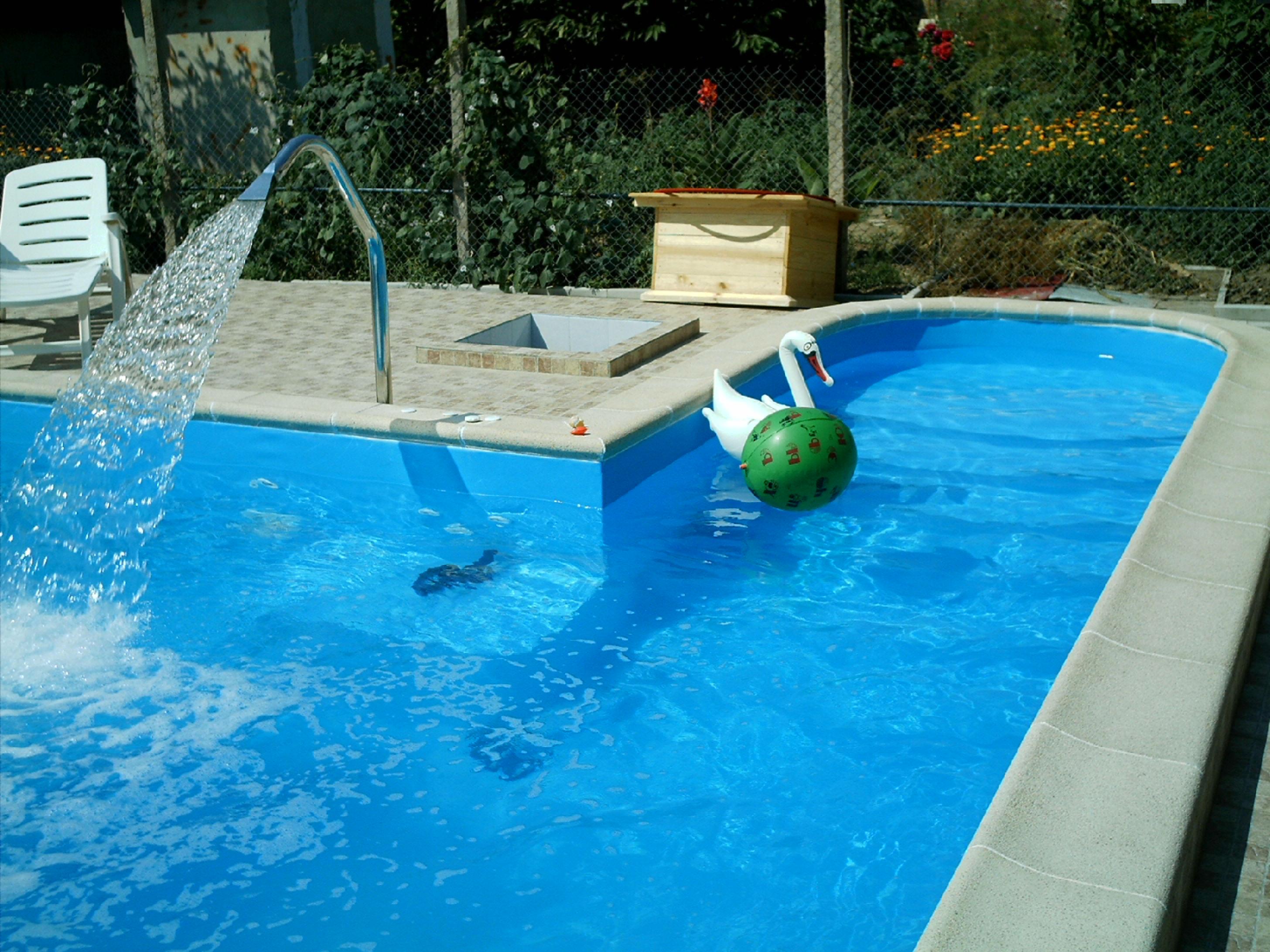 Бассейн в частном доме - Строительство дома своими руками 70